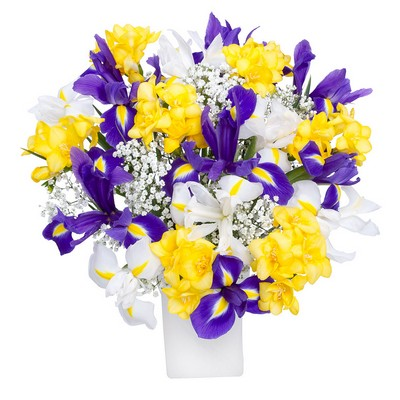 Product - Iris and Freesia Mix